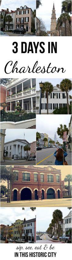 fun-filled weekend in Charleston {restaurants, bars, breweries & tours}