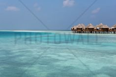 Bungalows in the Maldives - Wall Mural & Photo Wallpaper - Photowall
