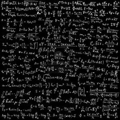 Vector Fisica Blackboard with physical equations and formulas - vector illustration Physics And Mathematics, Quantum Physics, Math Wallpaper, E Mc2, Quantum Mechanics, Astrophysics, Blackboards, Albert Einstein, Science And Technology