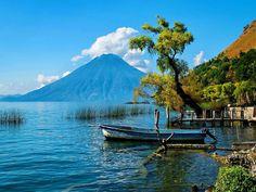 Lago de Atitlan, Guatemala América Central, Central America, South America, Beautiful Places, Beautiful World, Most Beautiful, Amazing Places, Beautiful Pictures, Wonderful Places
