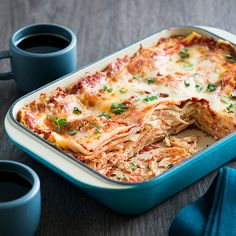 Simple And Easy Chicken Lasagna Recipe.South Your Mouth: 10 Easy Meals Made With Ground Beef. Seafood Lasagna Recipe Taste Of Home. Easy Ravioli Lasagna Make Ahead Freezer Meal The Food . Easy Chicken Lasagna Recipe, Classic Lasagna Recipe, Baked Lasagna, Chicken Pasta Recipes, Lasagna Food, Chicken Casserole, Wine Recipes, Cooking Recipes, Kosher Recipes