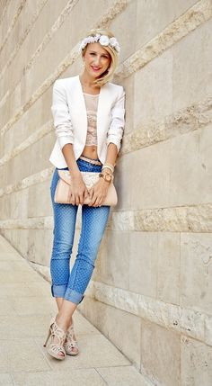 Edina (dorothyfashionland.blogspot.com) on streetfashionbudapest.hu in Six, New Look, H&M, Stradivarius, Deichmann and Fossil.