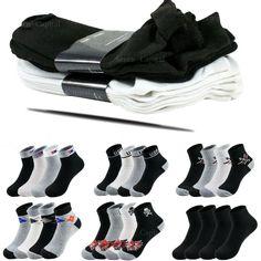 New 12 Pairs CREW Mens Solid Sports Socks Cotton 9-11 10-13 Gray LOT USA LONG