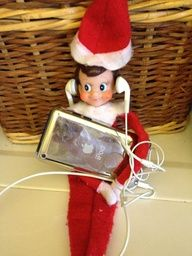 Top 75 Elf On the Shelf Ideas [In Pictures] (Instead have him playing Noah's game)