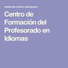 Centro de Formación del Profesorado en Idiomas