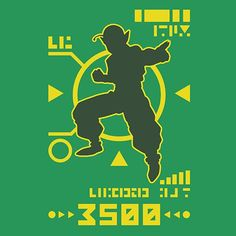 DBZ Namekian Power Over 3500 T-Shirt $12.99 Dragon Ball tee at Pop Up Tee!