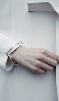 Ami Masamitsu, safety pin bracelet.                                                                                                                                                     More