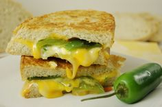 Jalapeno Popper Grilled CheeseIngredients 6 large jalapeno peppers 4 ounce cream cheese, softened 4 green onions, chopped Dash of… View Post