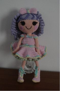 Little LalaOopsie is finished! Was fun making this little one and hope you will have as much fun making her, as well as you daughters playing with her. Possibilities are endless. Specially when it …