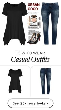 """""""casual blouse"""" by girl-gene on Polyvore featuring JunaRose"""