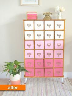 Before & After: A Card Catalog Gets Character