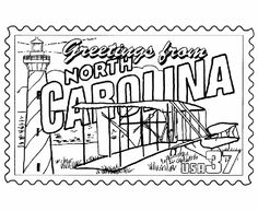 North Carolina Flag Coloring Page In 2020 Flag Coloring Pages