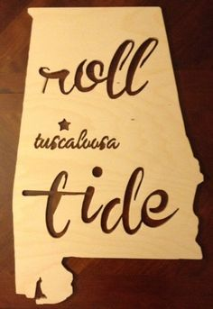 Alabama Roll Tide State of Alabama Wooden Sign Pallet Crafts, Wooden Crafts, Wooden Diy, Alabama Door Hanger, Wooden Signs With Sayings, Door Hanger Template, Elephant Face, Wooden Cutouts, Sweet Home Alabama
