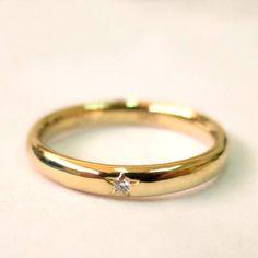 580f64a792c4 Anillo de bodas con estrella Anillos De Boda