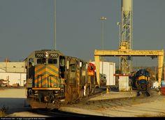 RailPictures.Net Photo: KCS 7000 Kansas City Southern Railway EMD SD50 at Kansas City, Missouri by Mike Mautner
