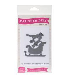 Echo Park Paper Company™ Designer Dies-Reindeer Sleigh