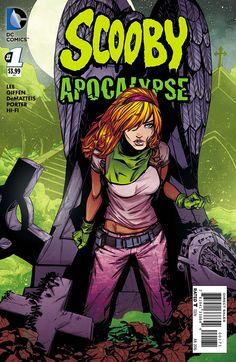 Scooby Apocalypse #1 cover by Joelle Jones