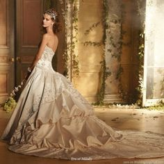 eve of milady wedding dresses by maiah.rutledge