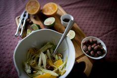 Fennel Salad with Orange, Olives and Roasted Hazelnuts/ FENYKLOVÝ SALÁT S POMERANČEM A LÍSKOVÝMI OŘÍŠKY #glutenfree #salad #salat #bezlepku #bezmleka #bezvajec #bezlaktozy #jarnidetox #fenykl