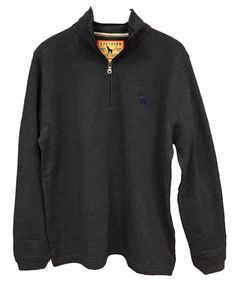 1/4 Zip Fleece Long Sleeve (Multi Colors) – Southern Fried Cotton