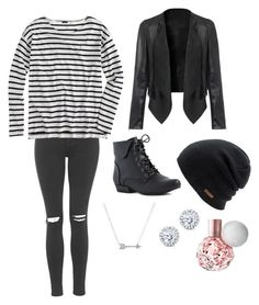 """Untitled #1927"" by if-i-were-famous1 ❤ liked on Polyvore featuring Topshop, J.Crew, Coal, Adina Reyter and Kobelli"