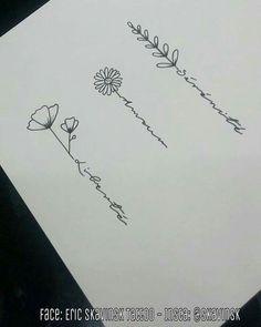 For inside of finger - Tattoo - Henna Designs Hand Date Tattoos, Forarm Tattoos, Top Tattoos, Mini Tattoos, Sexy Tattoos, Flower Tattoos, Body Art Tattoos, Tatoos, Tattoo Planets