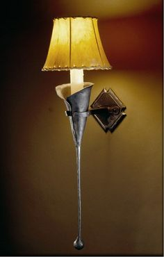 Large Calla Wall Sconce by Christopher Thomson Ironworks