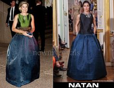 Queen Maxima wears NATAN Dress