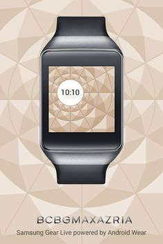 BCBGMAXAZRIA watch face for Android Wear.