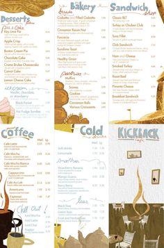 leaflet for restaurant menu