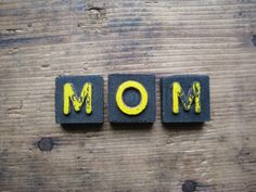 Vintage Wood Game Pieces Mothers Day  Black by hoitytoitydesigns, $6.00