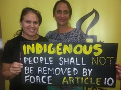 A clear breach of Human Rights @UNrightswire #SOSBLAKAUSTRALIA #NOconsent #Lifestylechoice