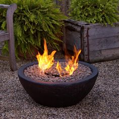 Ventless Fire Bowl