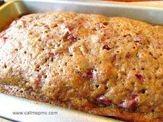 Super easy and so yummy! Call Me PMc: Strawberry Bread Dessert Bread, Dessert Recipes, Desserts, Snack Recipes, Healthy Recipes, Pampered Chef Recipes, Cooking Recipes, Strawberry Bread Recipes, Strawberry Glaze