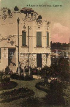Eger, Tündérpart utca - a Légmán-villa Villa, Painting, Art, Art Background, Painting Art, Kunst, Paintings, Performing Arts, Painted Canvas
