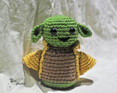 Master Yoda / Star Wars toy / amigurumi Yoda / crochet Yoda