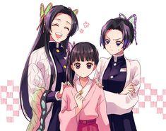 Demon Slayer: Kimetsu No Yaiba manga online Anime Chibi, Chica Anime Manga, Fanarts Anime, Otaku Anime, Anime Characters, Thicc Anime, Slayer Meme, Demon Slayer, Kawaii Anime Girl