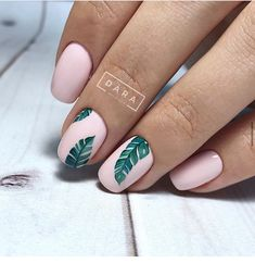 Nail art is a very popular trend these days and every woman you meet seems to have beautiful nails. It used to be that women would just go get a manicure or pedicure to get their nails trimmed and shaped with just a few coats of plain nail polish. Cute Summer Nail Designs, Cute Summer Nails, Cute Nails, My Nails, Tropical Nail Designs, Summer Vacation Nails, Nail Summer, Tropical Nail Art, Summery Nails