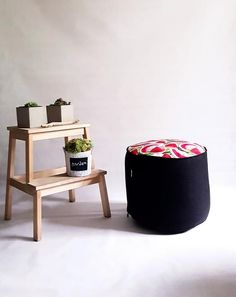 Poufs, Decorating Your Home, Maya, Watermelon, Ottoman, Trust, Upholstery, Make It Yourself, Creative