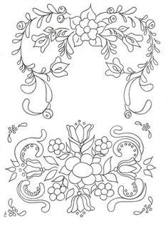 Embroidery pattern...    19 de novembro de 2012 - Jacqueline Buriche - Álbuns da web do Picasa