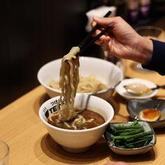 Getting cold and rainny tonight in hong kong reminds me of this delicious hot #tsukemen at #tetsu102hk . #Foodandtravelhk #causewaybayeats by foodandtravelhk