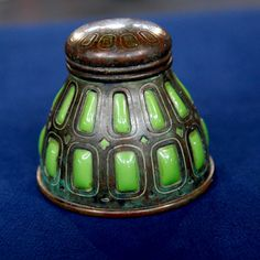 Tiffany Studios Inkwell, ca. 1905  Appraised Value:  $5,000