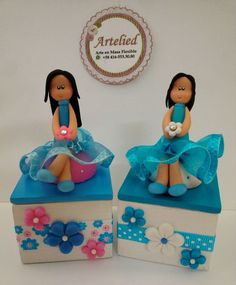 https://flic.kr/p/QrBGuD | WhatsApp Image 2016-12-02 at 5.57.52 PM(4) | Cajas decoradas en masa flexible