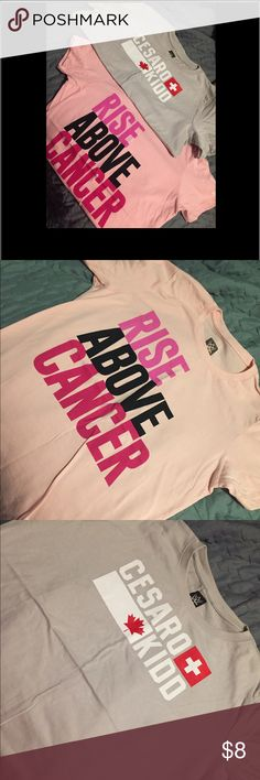 🎉TODAY ONLY SALE! 🎊 WWE women's TShirts 🌲 Set of two size large women's WWE t shirts. Ordered online and stashed away. Never worn- didn't come with tags as I ordered online. Smoke free home. 🎁 Tops Tees - Short Sleeve
