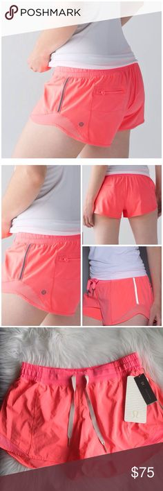JUST IN✔️NWT Hotty Hot Short by Lululemon Brand new ✔️ NWT Hotty hot short by Lululemon size 10/ Low-rise / 4 inseam NO TRADES lululemon athletica Shorts Skorts