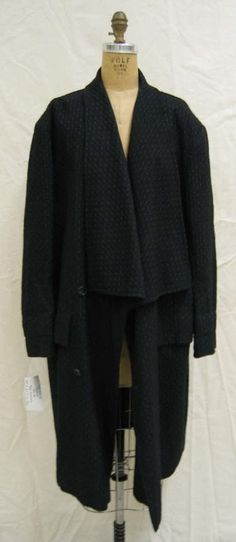 Yohji Yamamto Coat 1984/85 i have a pattern for this. Did not realize how great it might be in a soft fabric!