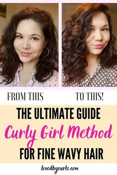 Curly Girl Method For Fine Wavy Hair | Loved By Curls