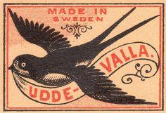 Vintage Matchbox Designs