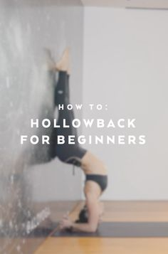 Learn how to achieve a strong and balanced Hollowback in this instructional tutorial for advanced yogis. Briohny Smyth offers her personal tips and favorite warm up poses to ensure a safe and supported practice. Hollowback, a variation on Pincha Mayurasana, allows you to open up your chest and shoulder spaces, work on your counter balance and add some playfulness to your yoga practice.