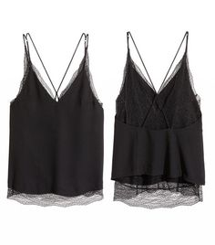 H&M Double-Layer Lace Camisole Top